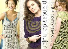 100 patrones de crochet prendas de mujer
