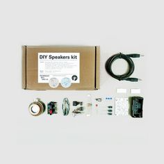 DIY Speaker Kit, Technology Will Save Us (Technology Will Save Us) on Bleep