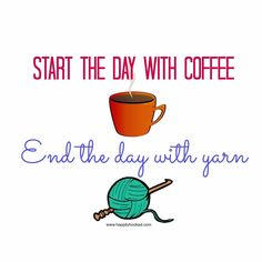 Just yarn for me, thanks! No coffee. I'll just sit here & crochet. If a nap happens, oh well!!
