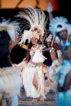 The Cook Island Dancers perform for the Diamond Jubilee Pageant in Windsor  Picture: LEON NEAL/AFP/Getty Images