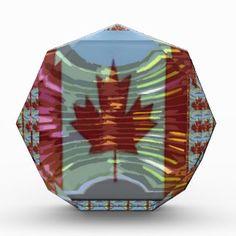 Canadian Maple Leaf Flag Award