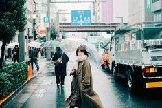 """On a rainy day Japanese Aesthetic, Korean Aesthetic, Film Photography, Street Photography, Pregnancy Photography, Japanese Photography, Pose Reference Photo, 35mm Film, Film Stills"