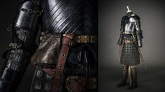 """From """"Game of Thrones"""" worn by Gwendoline Christie as Brienne of Tarth design by Michele Clapton"""