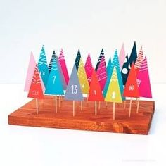 DIY Forest Advent Calendar | Whimseybox