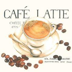napkins / motives,  Beverages coffee / tea,  Everyday,  cocktail napkins,  espresso,  coffee