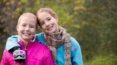 Twins Lily and Bailey Dove are helping each other through treatment for childhood cancer.