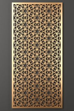 models: Other decorative objects - Decorative partition Laser Cut Panels, Laser Cut Metal, Metal Panels, Decorative Metal Screen, Decorative Panels, Decorative Objects, Railing Design, Staircase Design, Jaali Design