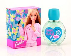 Barbie Super Model perfume is a sweetly innocent fragrance for girls, composed of light floral notes.