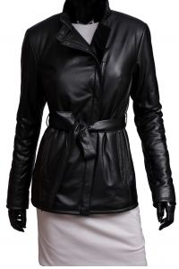 Kurtka Skórzana Pikowana Damska DORJAN CM ROX450 Leather Jacket, Jackets, Fashion, Fotografia, Studded Leather Jacket, Down Jackets, Moda, Leather Jackets, Fashion Styles