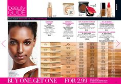 Are you looking for foundation on the go?  Or a great foundation match that makes your skin flawless?  Check out the foundations that are buy one, get one for $2.99 at my eStore: https://jtomlinson.avonrepresentative.com/