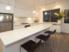 tiles & white kitchen