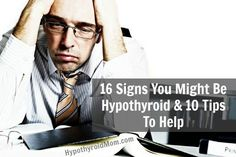 Often, at first, you barely notice the symptoms of hypothyroidism, such as fatigue and weight gain. You might simply attribute them to getting older. But as your metabolism continues to slow, you may develop more obvious signs and symptoms. Thyroid Disease Symptoms, Adrenal Fatigue Symptoms, Hypothyroidism Symptoms, Thyroid Issues, Thyroid Hormone, Thyroid Problems, Thyroid Health, Autoimmune Disease, Thyroid Test