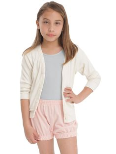 Kids Pique Bloomer | 2 - 6 Years | Kids & Babies' Shorts | American Apparel