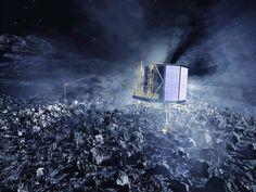 Dopo più di 10 anni di viaggio, la sonda Rosetta sbarca sulla cometa Churyumov-Gerasimenko e il dipartimento di Fisica dell'Università di Pisa organizza un