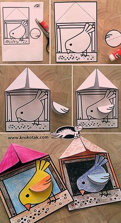 Summer Crafts, Diy And Crafts, Crafts For Kids, Arts And Crafts, Paper Crafts, Kindergarten Activities, Preschool Crafts, Planner Doodles, Smart Art