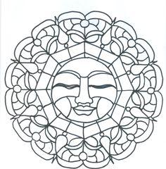 Pagan Symbols Coloring Pages Printables