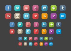 42 Long Shadow Social Icons(PSD) download : http://www.uipixels.com/42-long-shadow-social-iconspsd/