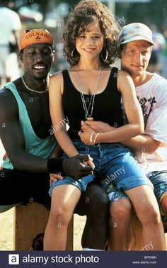 Rosie Perez, Wesley Snipes, and Woody Harrelson in White Men Can't Jump