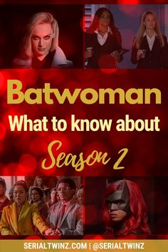 If you're a fan of the DC superhero action drama Batwoman and you can't wait for the show to return on January 2021, this is for you. Check out our blog post on everything about Batwoman Season 2: news, cast, plot, spoilers, S1 Recap, etc. Moreover, we have new pictures of Javicia Leslie in her new Batwoman suit and we update regularly   #Batwoman #TVSeries #BatwomanS2 #TheCW Dc Comics Tv Series, Marvel Series, The Cw Tv Shows, Superhero Tv Shows, Universe Tv, Ally Mcbeal, His Dark Materials, Hope Symbol, Jane The Virgin