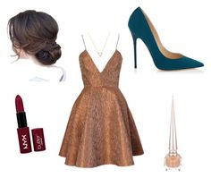 A fashion look from June 2015 featuring striped cocktail dress, high heel court shoes and triangle pendant necklace. Browse and shop related looks. Aldo Shoes, Suede Shoes, Wanderlust And Co, Open Toe Sandals, Brown Dress, Lc Lauren Conrad, Summer Dresses, Formal Dresses, Jimmy Choo