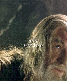 Gandalf, the Grey Wanderer. Gandalf, Aragorn, Legolas, Thranduil, Fellowship Of The Ring, Lord Of The Rings, Frodo Baggins, Thorin Oakenshield, Concerning Hobbits