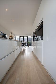 Modern Flooring, Kitchen Flooring, Modern Kitchen Interiors, Future House, Interior And Exterior, Kitchen Design, New Homes, House Design, Dresden