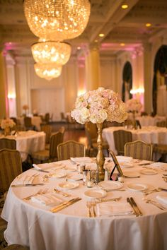 Venetian Gold & Pink Wedding at The Jefferson Hotel in Richmond, VA | www.ashleylesterphoto.com |