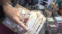 Junk Journal and some tips #junkjournal - YouTube