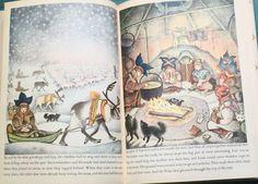 Children of the North Lights illustration #illustrations #snow #winter #books #iceland