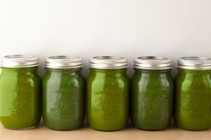 SWEET AND GREEN  1 pear  1 apple  2 cups spinach  1 bunch of kale  1 celery stalk (about 10 sticks with leaves)  1 cucumber