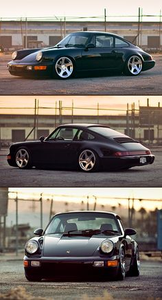 Brian Henderson is the lucky owner of Rotiform, a beautiful Porsche and the lovable Orbit. Rotiform's Porshce 964 sitting on polished Rotiform TMBs. Porsche 964, Porsche Carrera, Porsche Girl, Porsche Logo, Porsche Wheels, Black Porsche, Cayman Porsche, Porsche Classic, Vintage Porsche