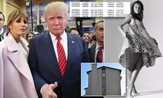 Daily Mail Online reveals how Melania Trump went from being brought up in a grim apartment in Yugoslavia by her Communist father to being wife of the Republican White House front-runner. Melania Knauss Trump, Us First Lady, Front Runner, First Lady Melania, Documentaries, Bring It On, Daughter, Journey, House Front
