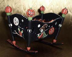 Halloween Theme Cradle