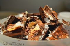 Meringue Skinny Chocolate - still skinny! Low-carb chocolate meringue dessert.