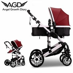 Find More Strollers Information about 2016 New Arrival Luxury Baby Stroller Pushchairs For Newborns  Angenebaby High Landscape Luxury Pram Baby Strollers,High Quality pushchair,China stroller safety Suppliers, Cheap stroller net from Angel Growth Diary on Aliexpress.com