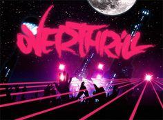 Overthrill - A space odyssey by Sebastian Bentler, via Behance