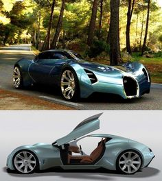 2025 Bugatti Aerolithe Vehicle Concept