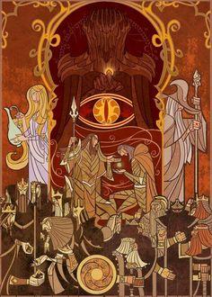 Tapestry Art for LOTR