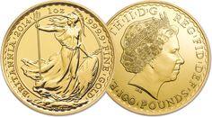 gouden brittania munt kopen