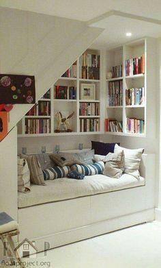 Cozy Reading Nook! <3