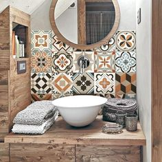 """Braga"" Pvc tiles for bathroom tiles and kitchen Ceramic decorations various sizes - Kacheln & Fliesen ♡ Wohnklamotte - Bathroom Decor Kitchen Tiles, Kitchen Decor, Room Tiles, Bathroom Splashback, Kitchen Counters, Backsplash Tile, Kitchen Furniture, Downstairs Toilet, Ceramic Decor"