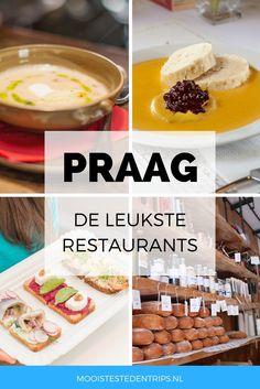 Smullen in Praag! Bekijk de leukste en meest bijzondere restaurants in Praag.