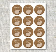 Lamb Baby Shower Decor: Printable Banner Gift by CJANEdesignshop Eid Mubarak Stickers, Eid Stickers, Diy Eid Gifts, Sheep Illustration, Balloon Frame, Instagram Frame Template, Baby Dedication, Islamic Quotes Wallpaper, Watercolor Painting Techniques