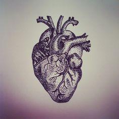 #art #anatomicalheart