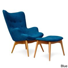 Huggy Chair/ Ottoman - Overstock™ Shopping - Great Deals on Living Room Chairs