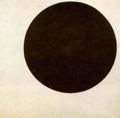 black circle by Kasimir Malevich (1917)