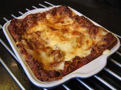 Lasagnes à la bolognaise : la recette facile