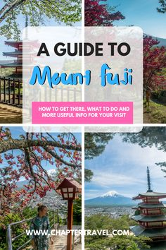 Are you going on a day trip to Mount Fuji from Tokyo? Be sure to read our post on Mount Fuji with useful tips for your visit! It includes a itinerary, things to do and much more. Tokyo Travel Guide, Japan Travel Guide, Asia Travel, Solo Travel, Travel Guides, Travel Packing, Visit Japan, Mount Fuji, Plan Your Trip