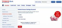 Tesco Bank Cuts Rates on Instant Access Savings Accounts Building Society, Savings Accounts, Instant Access, About Uk, Banks, Accounting, Couches