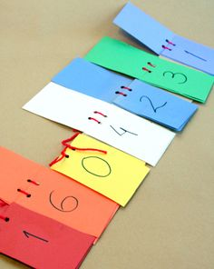 Activities: Make a Flip Book for Place Value- maybe laminate and use a binding comb
